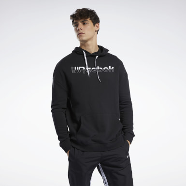 Herr Fitness & Träning Svart Meet You There Hoodie