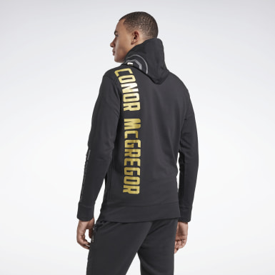 Mænd Fitness & Training Black UFC Fight Night Walkout Hoodie