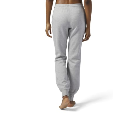 Women Fitness & Training Grey Training Essentials Fleece Sweatpant