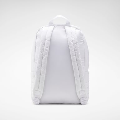 Classics White Classics Freestyle Quilted Backpack