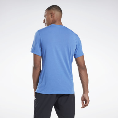 Men Fitness & Training Blue Graphic Series Speedwick Tee