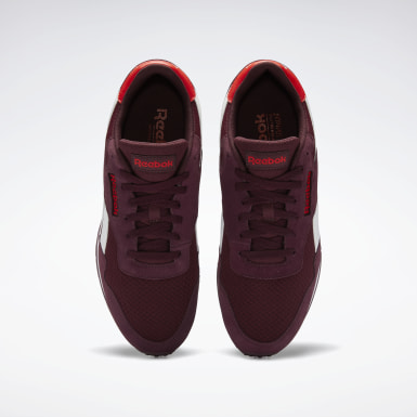 Men Classics Burgundy Reebok Royal Ultra Shoes