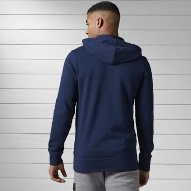 Hoodie de felpa francesa con zipper completo Training Essentials