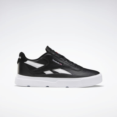 Classics Black Reebok Legacy Court Shoes
