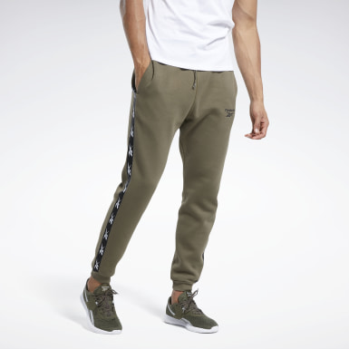 Men Fitness & Training Green Training Essentials Tape Jogger Pants