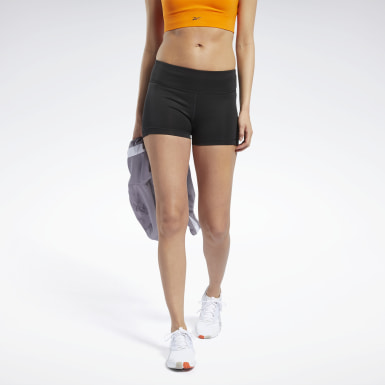 Dames Trail Running Zwart Workout Ready Hot Short