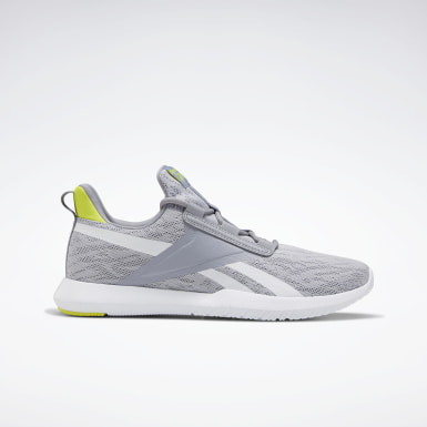 Men Cross Training Grey Reebok Reago Pulse 2.0 Shoes