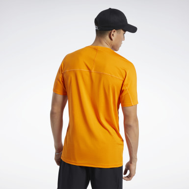 Playera ACTIVCHILL Move Naranja Hombre Fitness & Training
