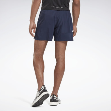 Men Terrengløping Blue Run Essentials 5-Inch Shorts