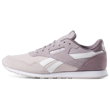 Women Classics Purple Reebok Royal Ultra