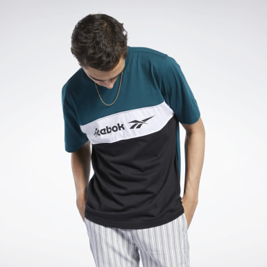 Men Classics Green Classics Linear Tee