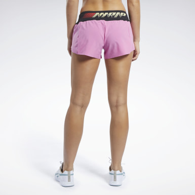 Women Training Reebok CrossFit® Knit Woven Shorts