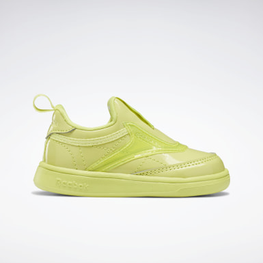 Club C Cardi Slip on III Yellow Garçons Classics