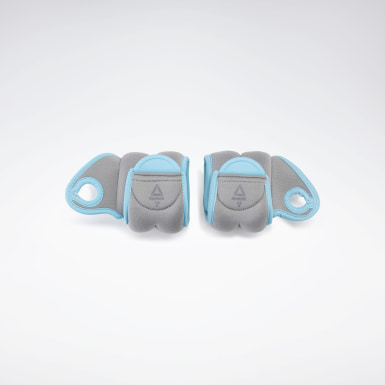 Fitness & Training Grey Wrist Weights - 1 KG