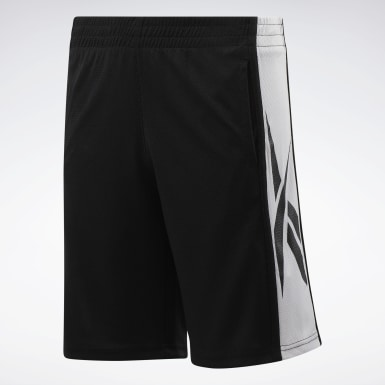 Boys Training Flatback Mesh Shorts