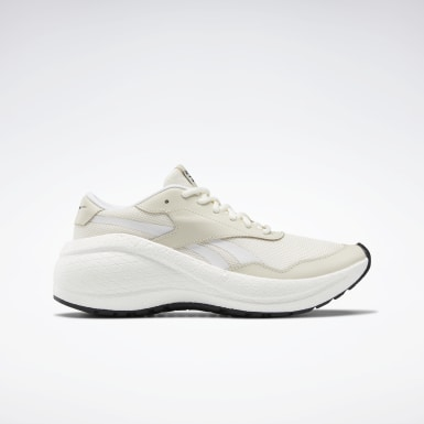 Women Running White Reebok Metreon Shoes