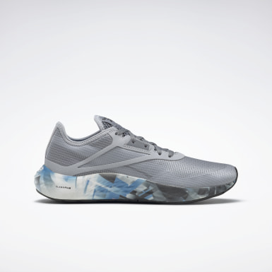 Women Running Grey Reebok Flashfilm 3 Women's Running Shoes