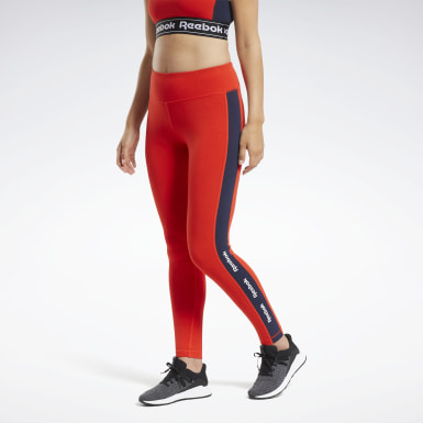 Calzas Training Essentials Linear Logo Mujer Fitness & Training