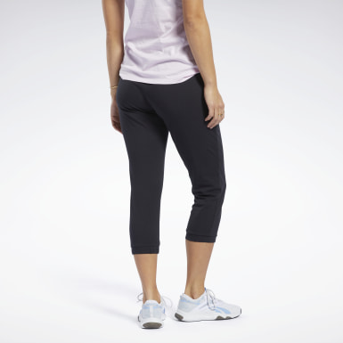 Women Training Black Training Essentials Capri Pants