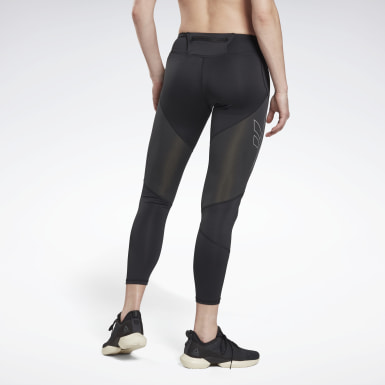 Women Trail Running Black One Series Running Vector Tights