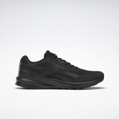 Men Running Black Reebok Runner 4.0 Shoes