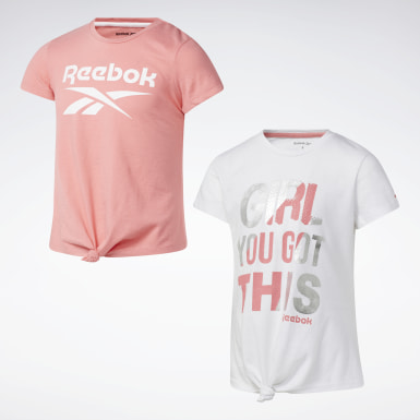 Girls Training 2-Pack Reebok Twist Top