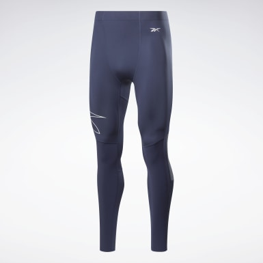 Men Fitness & Training Blue United by Fitness Compression Tights
