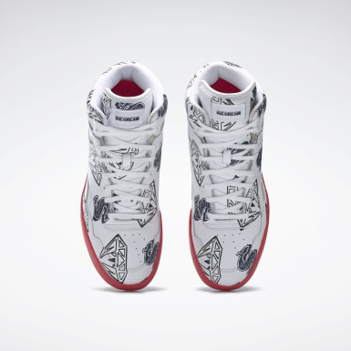 белый Кроссовки Reebok Billionaire Boys Club BB4600 Basketball