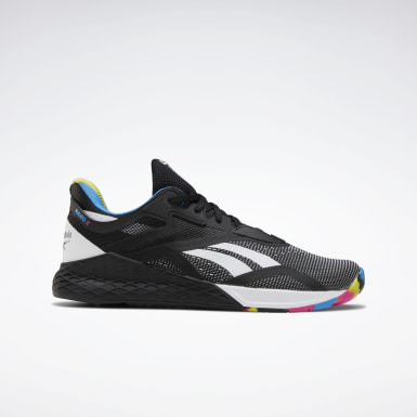 Men Training Black Reebok Nano X Shoes