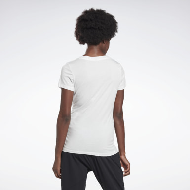 GB W COTTON VNECK T VCTR