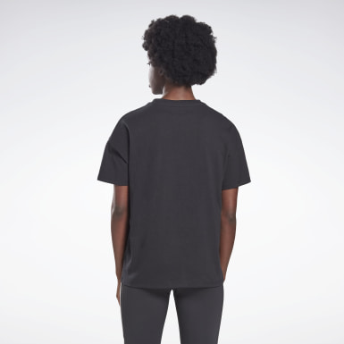 Women Studio Black Vector Graphic Tee