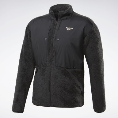 Men Classics Black Classics Trail Full Zip Jacket
