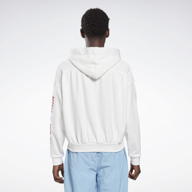 Sweat à capuche Reebok by Pyer Moss White Classics