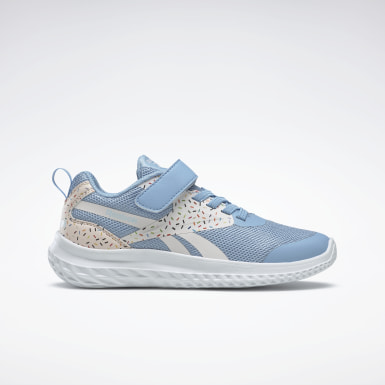 Girls Running White Reebok Rush Runner 3 Alt Shoes