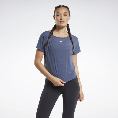Women Hiking Blue ACTIVCHILL Boxy Tee
