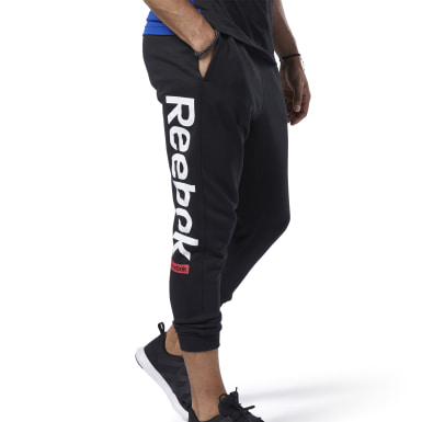 Mænd Fitness & Training Black Training Essentials Logo Jogger Pants