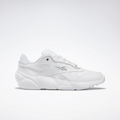 Women Classics White Premier Classic Leather Shoes
