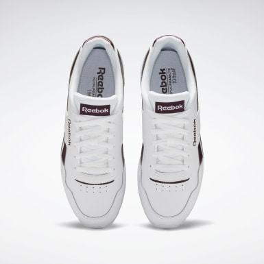Men Classics White Reebok Royal Glide Shoes