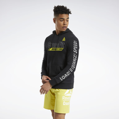 Herr Cross Training Svart RC FEF Graphic Hoodie