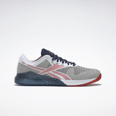 Men Cross Training White Nano 9.0 Shoes