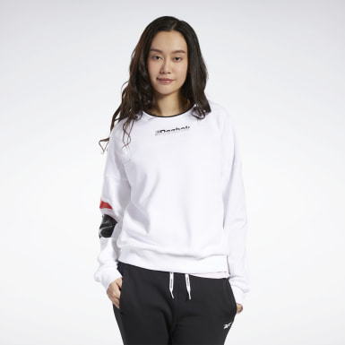 Women Fitness & Training White Meet You There Sweatshirt