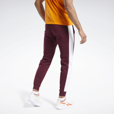 Männer Fitness & Training Training Essentials Linear Logo Joggers Weinrot