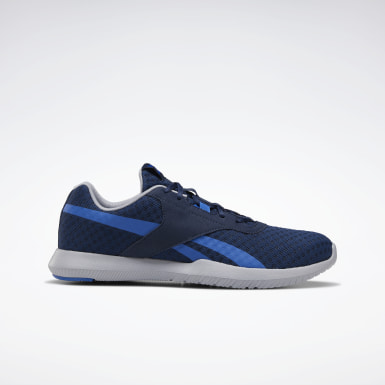 Men Fitness & Training Blue Reebok Reago Essentials 2.0 Shoes