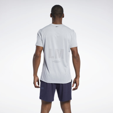 Männer Studio Les Mills® Knit Short-Sleeve T-Shirt
