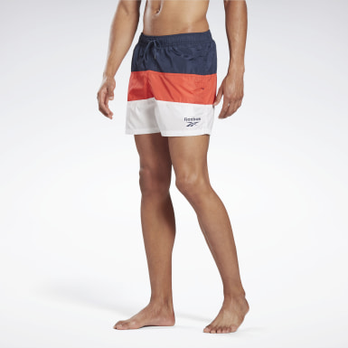 Men Swimming Blue Reebok Willis Swim Shorts