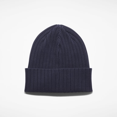 Men Training Blue Active Foundation Logo Beanie