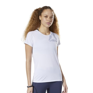 Camiseta gráfica ACTIVCHILL Blanco Mujer Fitness & Training