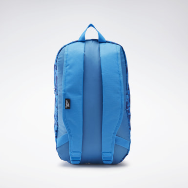 Kids Fitness & Training Blue Graphic Backpack