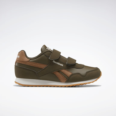 Boys Classics Green Reebok Royal Classic Jogger 3 Shoes