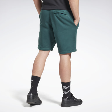 Men Classics Green Classics Premium Vector Shorts